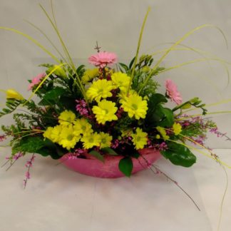 Dekorace z řezaných květin